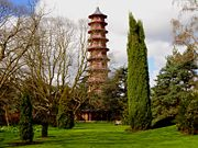 The Pagoda at Kew Gardens, London, England